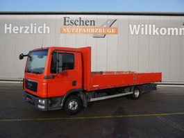 open laadbak vrachtwagen MAN TGL 8.180BL, 4x2, Euro 5, 3 Sitzplätze 2010