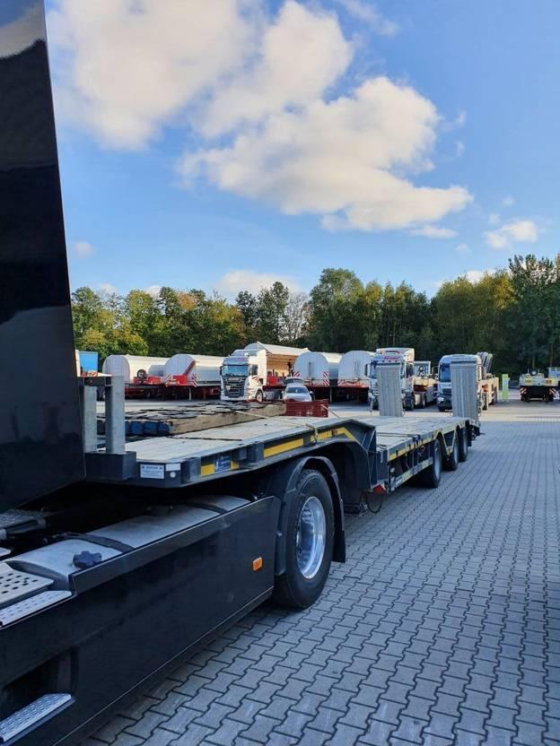 "semi dieplader oplegger Meusburger 3-Achs-Tele-Semi-Auflieger Bau ""Roadrunner"" 2017"