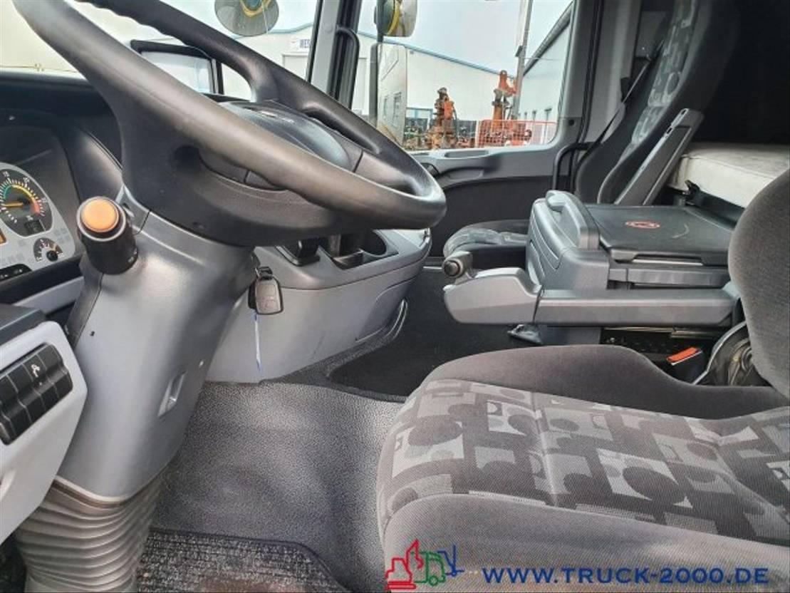 autotransporter vrachtwagen Mercedes-Benz 1840 Mersch Geschlossen Doppelstock 4 Fahrzeuge 2005