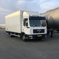 bakwagen vrachtwagen MAN TGL 8 8.180  TGL   Gearbox Fault Euro 3 !! Analoge Tacho !! 2006