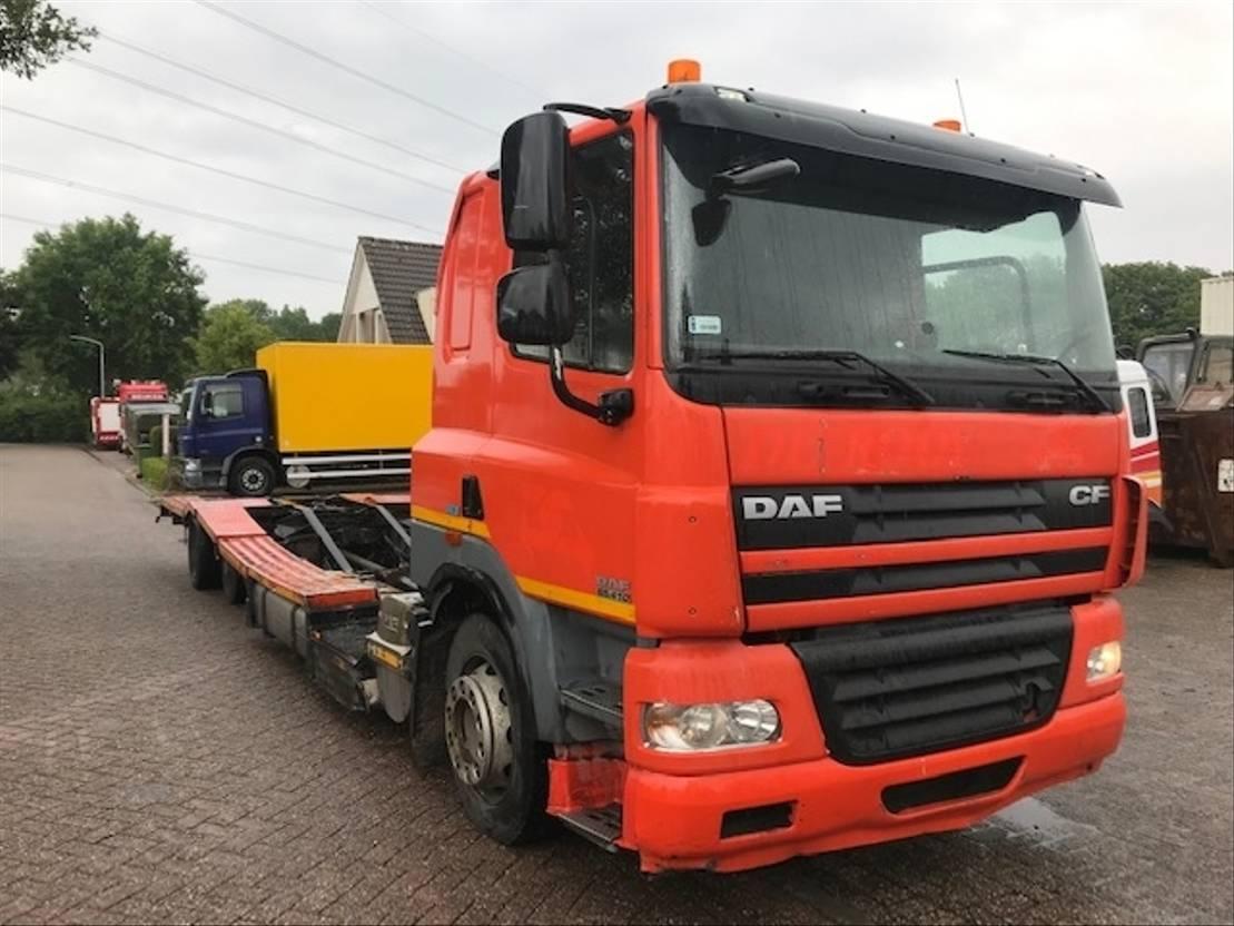 autotransporter vrachtwagen DAF CF 85 410 EURO 5 2011