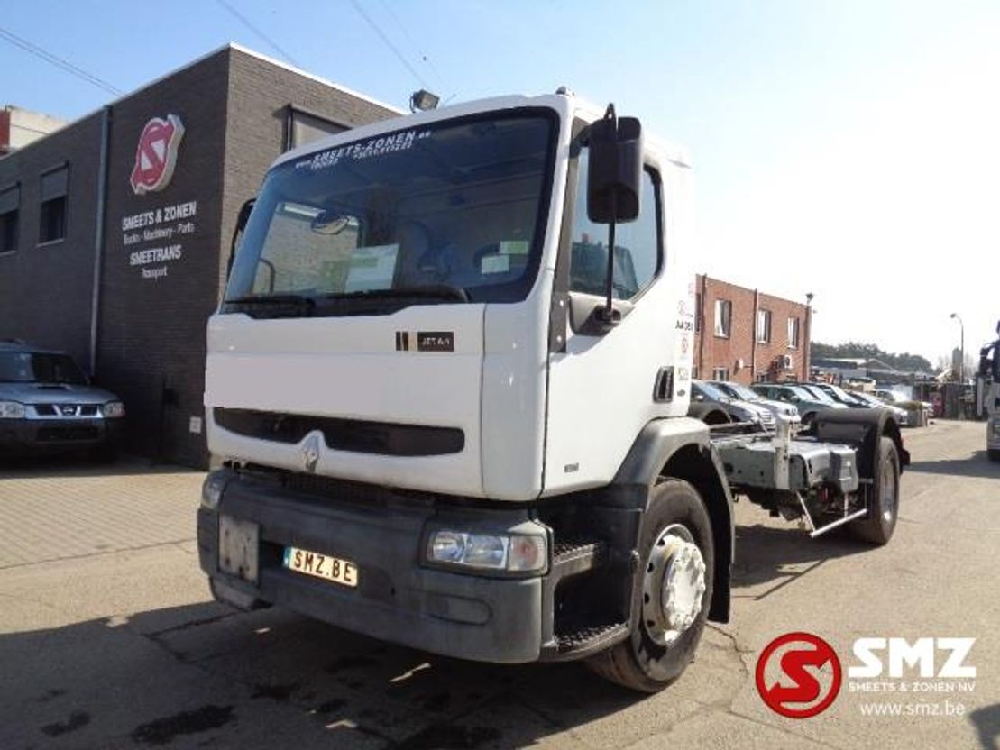 chassis cabine vrachtwagen Renault Premium 270 92000km 2002