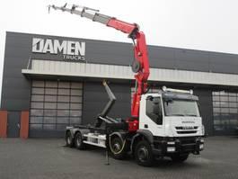 containersysteem vrachtwagen Iveco TRAKKER 450 EEV 8x4 2010