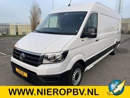 gesloten bestelwagen Volkswagen crafter l5h3 airco 270 graden achterdeuren NIEUW 2020
