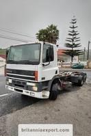 chassis cabine vrachtwagen DAF CF 85 380 6X2 26 ton Euro 2 left hand drive. 1998