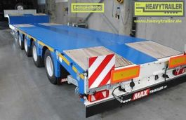 semi dieplader oplegger Faymonville Maxtrailer 4-Achs-Tele-Semi-Auflieger