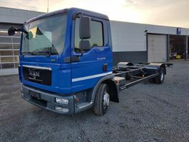 chassis cabine vrachtwagen MAN TGL 12.250 chassis cabine Euro 5 2012