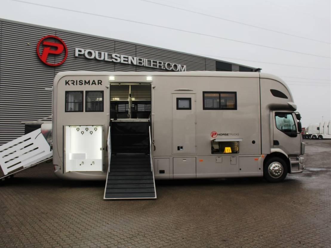 paardenvrachtwagen Volvo Krismar FL 280 2021
