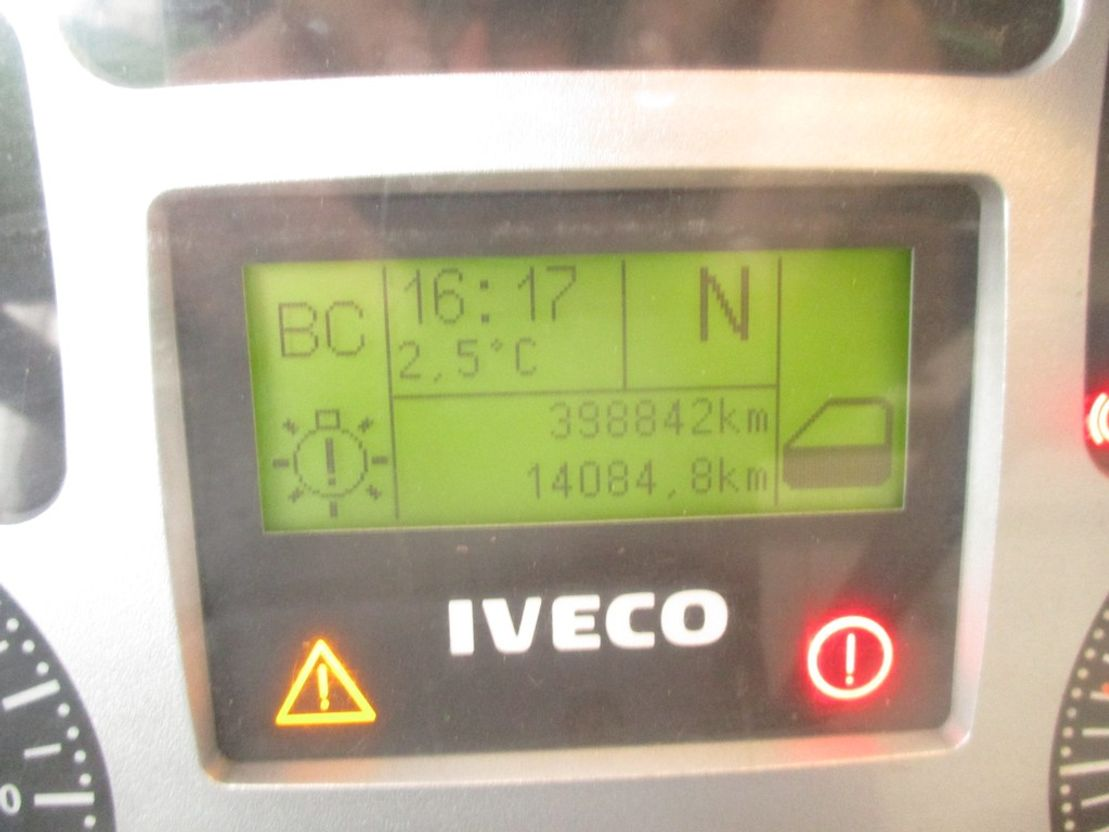 koelwagen vrachtwagen Iveco EuroCargo 75 E 16 , Reefer truck , Spring Suspension 2007
