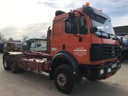 containersysteem vrachtwagen Mercedes-Benz SK2638 V8 6X2 **10TYRE'S-FULL STEEL SUSPENSION** 1997