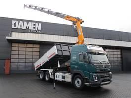 kipper vrachtwagen > 7.5 t Volvo FMX 500 6x2 Euro 6 Kipper /Kraan 2014