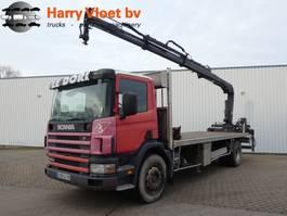 open laadbak vrachtwagen Scania P 94 300 2003