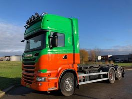 containersysteem vrachtwagen Scania SCANIA R560 Streamline nch / hts kabelsysteem 2013