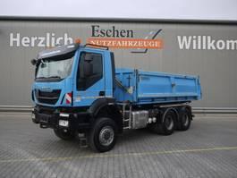 kipper vrachtwagen > 7.5 t Iveco AD 260 TW 41, Trakker, AP Achsen, Blatt 2014