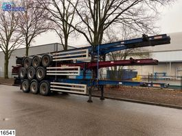 container chassis oplegger Dennison Container Set prijs 3 units = 10000 euro, 40 FT 2005
