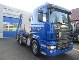 containersysteem vrachtwagen Scania R500 6x2 VDL Portal system 18 T