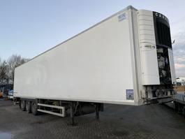 koel-vries oplegger Fruehauf 3 AS - SAF - DISC BRAKES + CARRIER VECTOR 1850 + LAADKLEP 2012