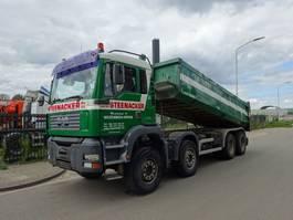 kipper vrachtwagen > 7.5 t MAN TGA 41.430 8X4 KIPPER / MANUAL / STEEL !! 2004