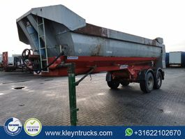 kipper oplegger Kaiser HALFPIPE 25m3 steel 2 axles 1999