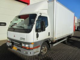 gesloten bestelwagen Mitsubishi CANTER FB634 - AIRCO 2003