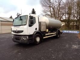 tankwagen vrachtwagen Renault citerne ETA alimentaire en inox 2 compartiments 2009