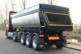 kipper oplegger Meiller MHPS 44/3N  24m3 geisoleerde kippertrailer compleet met Stralis X-Way 510Pk met hydraulisch aangedreven vooras NIEUW! 2020