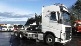 containersysteem vrachtwagen Volvo FH 500 Globetrotter 6x2 Containerhaaksysteem 2015