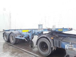 container chassis oplegger ASCA Oplegger lames/steel 1997