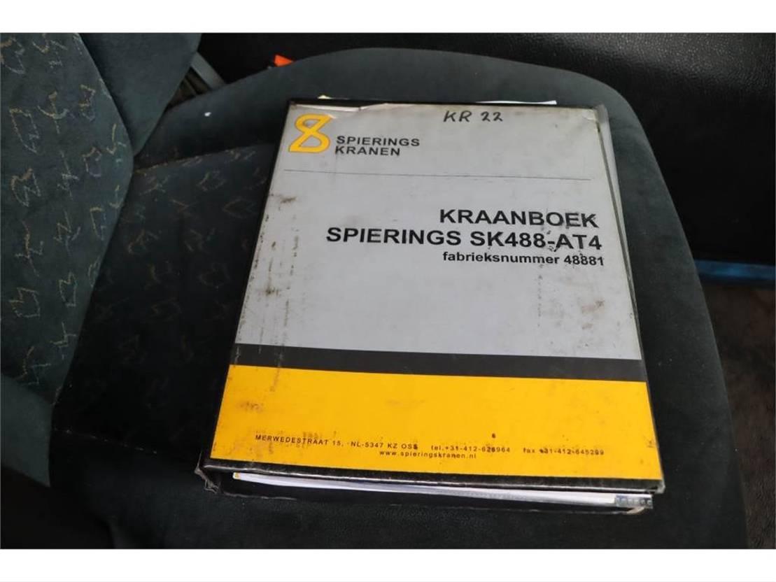 mobiele torenkraan Spierings SK488-AT4 Valid Inspection, 8x8x6 Drive, 8t Capaci 2003