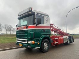 containersysteem vrachtwagen Scania Scania 6x2 164 580 NCH /Retarder / Manual 2003