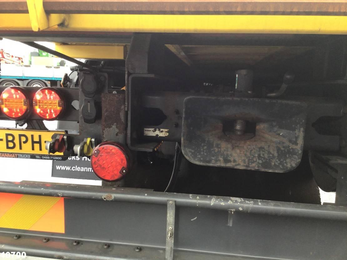 autotransporter vrachtwagen Scania R450 Euro 6 Retarder Afzetbare oprijplateau met oprijrampen 2014