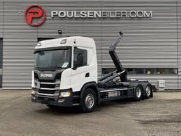containersysteem vrachtwagen Scania G410 6x2*4 Meiller Hooklift 2018