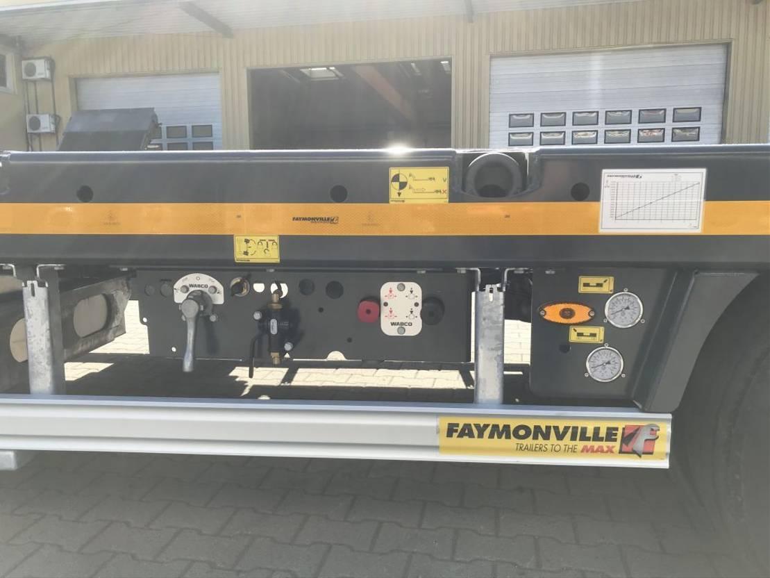 semi dieplader oplegger Faymonville 3-Achs-Semi mit hydr. Ladebett und hydr. Rampen - Gitterrost