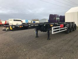 container chassis oplegger HRD 3-axle ADR 20
