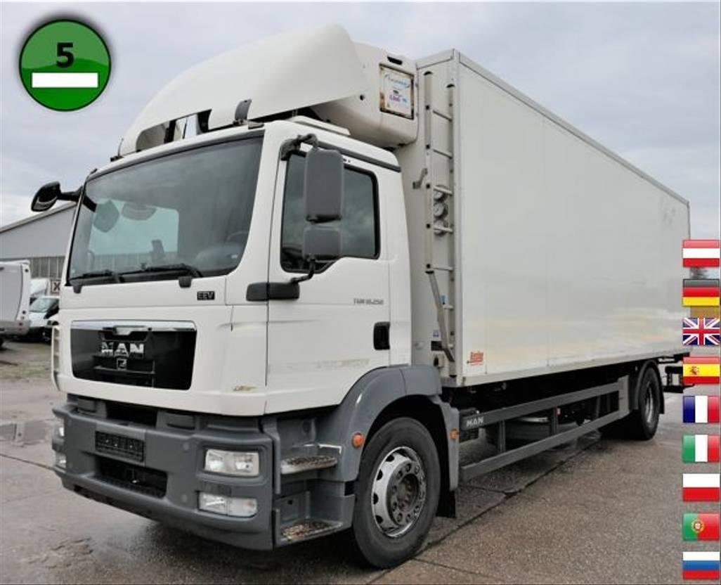 koelwagen vrachtwagen MAN TGM 18.250 4X2 CARRIER SUPRA 950 Mt LBW KLIMA TE 2011