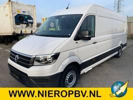 gesloten bestelwagen Volkswagen crafter l5h3 airco NIEUW 270graden achterdeuren 2020