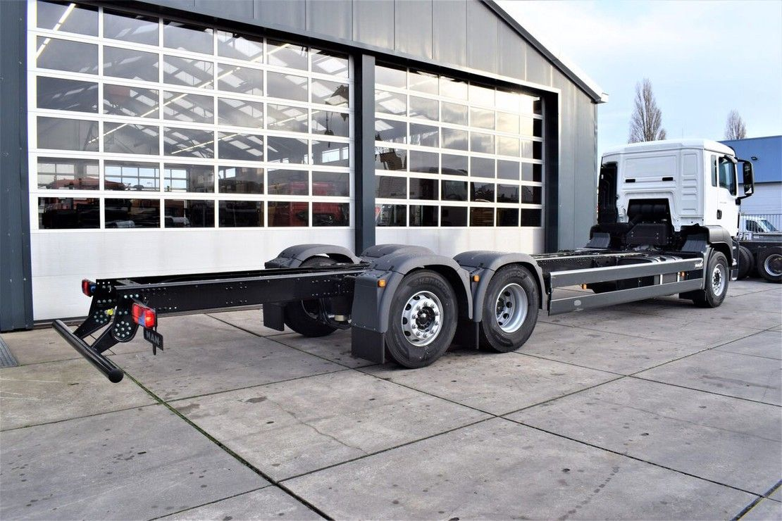 chassis cabine vrachtwagen MAN TGS 26 BL-WW 6×2-2 CHASSIS – CABIN 2020