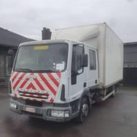bakwagen vrachtwagen Iveco Eurocargo 90E17 2006