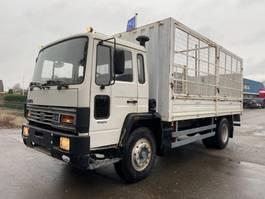 bakwagen vrachtwagen Volvo FL6 16 10 BOLTS STEEL SPRING MANUAL 1987