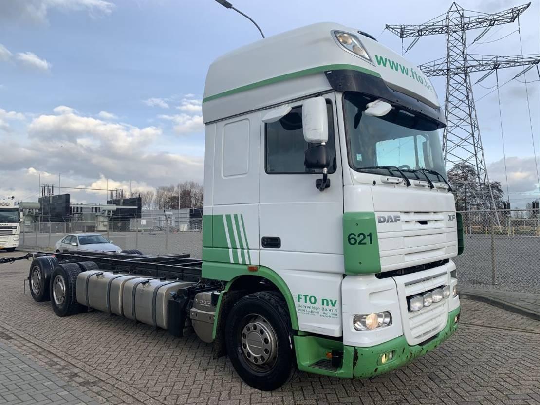 chassis cabine vrachtwagen DAF XF 105 .460 6x2 Chassis Cabine Retarder 2011