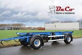 container chassis aanhanger Groenewegen 20 CCA 9 9 - BPW AXLES - DRUM BRAKES - GOOD CONDITION - 1996