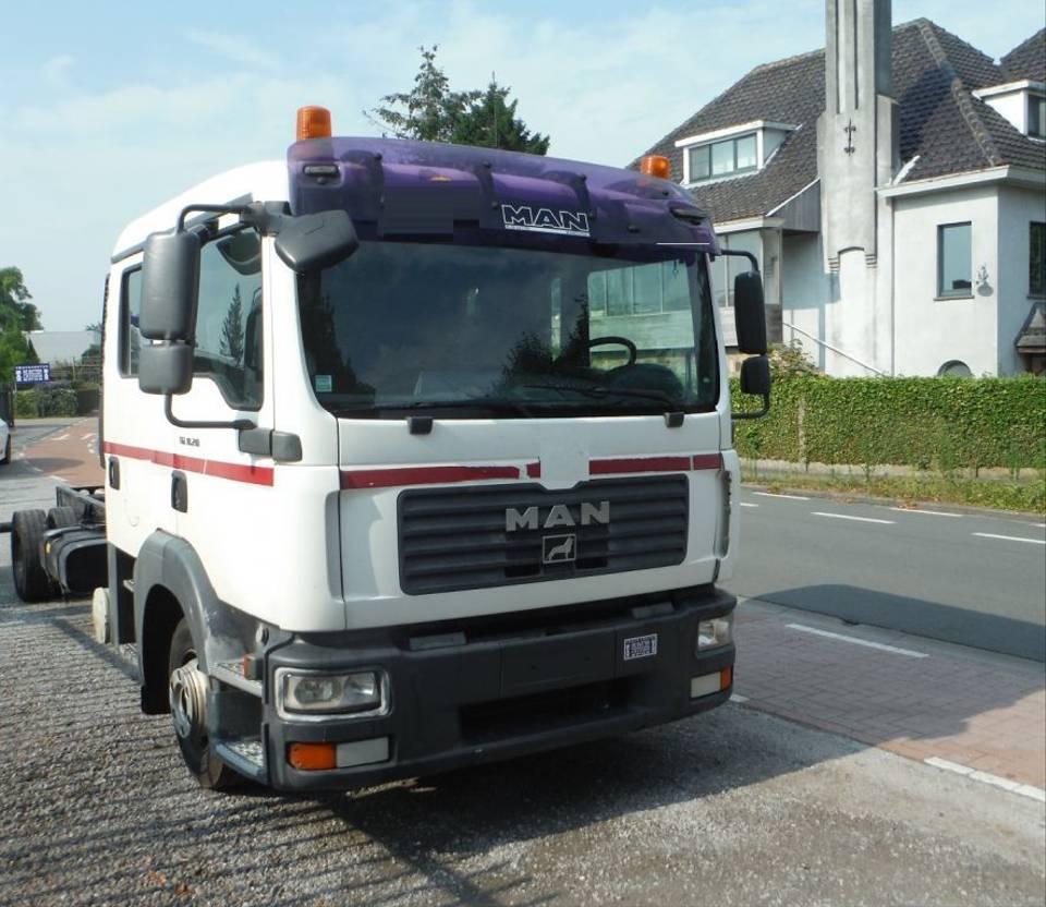 chassis cabine vrachtwagen MAN TGL 10.210 10210  (117) 2007