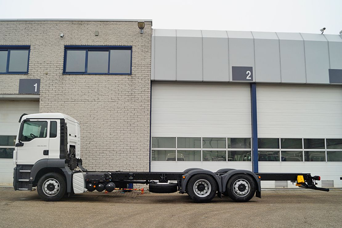 chassis cabine vrachtwagen MAN TGS 26 BL-WW CHASSIS CABIN