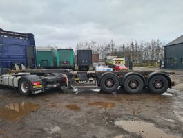 container chassis oplegger Broshuis Multi chassis  3UCC-39 2004