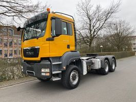 zware last trekker MAN TGS 33.480 /6x6/Kipphydraulik/Blatt-Blatt/Euro V 2013