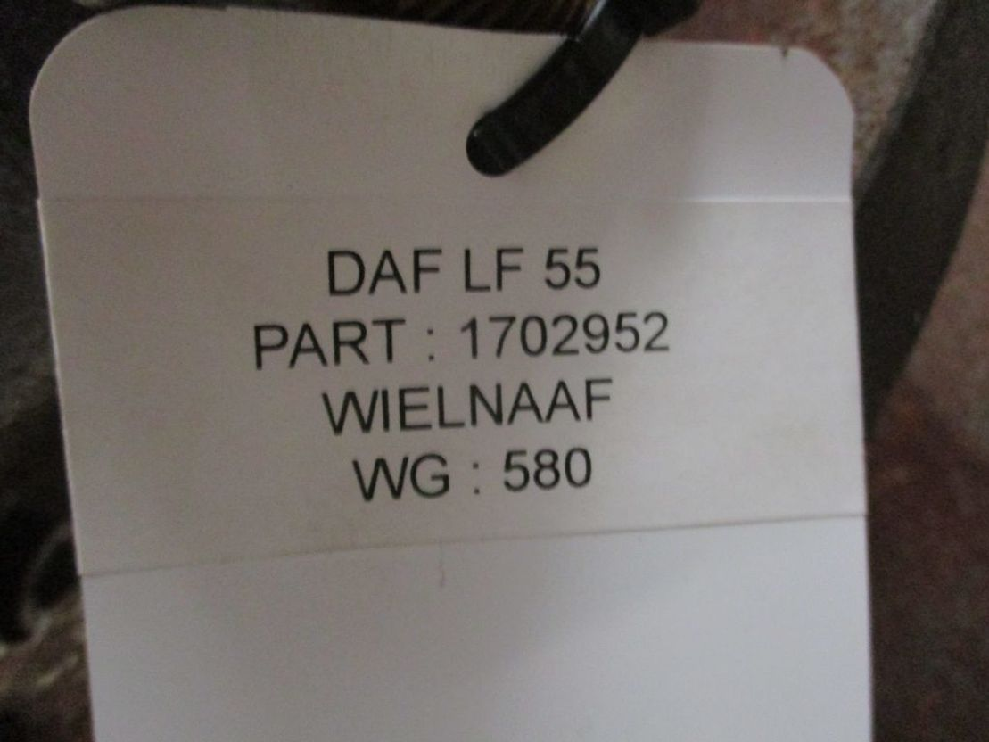 Naaf vrachtwagen onderdeel DAF 1702952 WIELNAAF DAF LF 55 1 X OP VOORRAAD