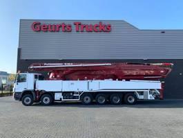 betonpomp vrachtwagen Mercedes-Benz Actros 6560 12X6 WITH 62 METER PUTZMEISTER CONCREET PUMP 2010