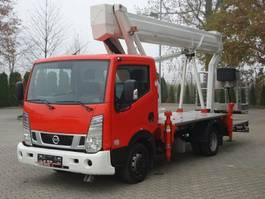 autohoogwerker vrachtwagen Nissan 4x2 E6 Hubarbeitsbuehne Ruthmann 25M!