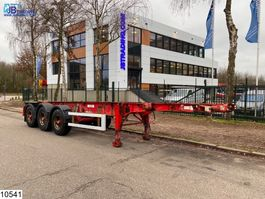 container chassis oplegger Dennison Chassis 20 / 30 FT Container system 2001