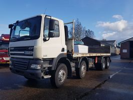 bakwagen vrachtwagen DAF FAD CF 85 8x4 MANUAL ONLY 345.000 km 2007